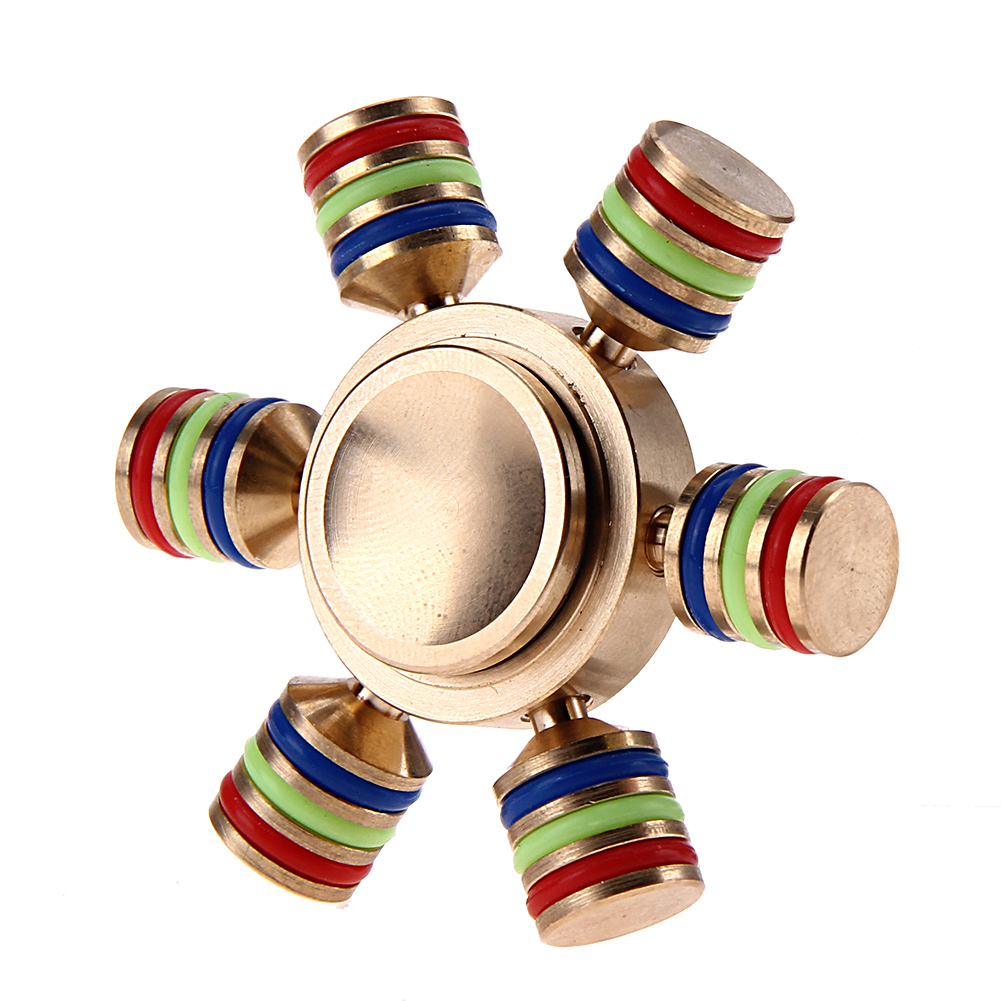 Hexagon Fidget Spinner kovový R188-HC