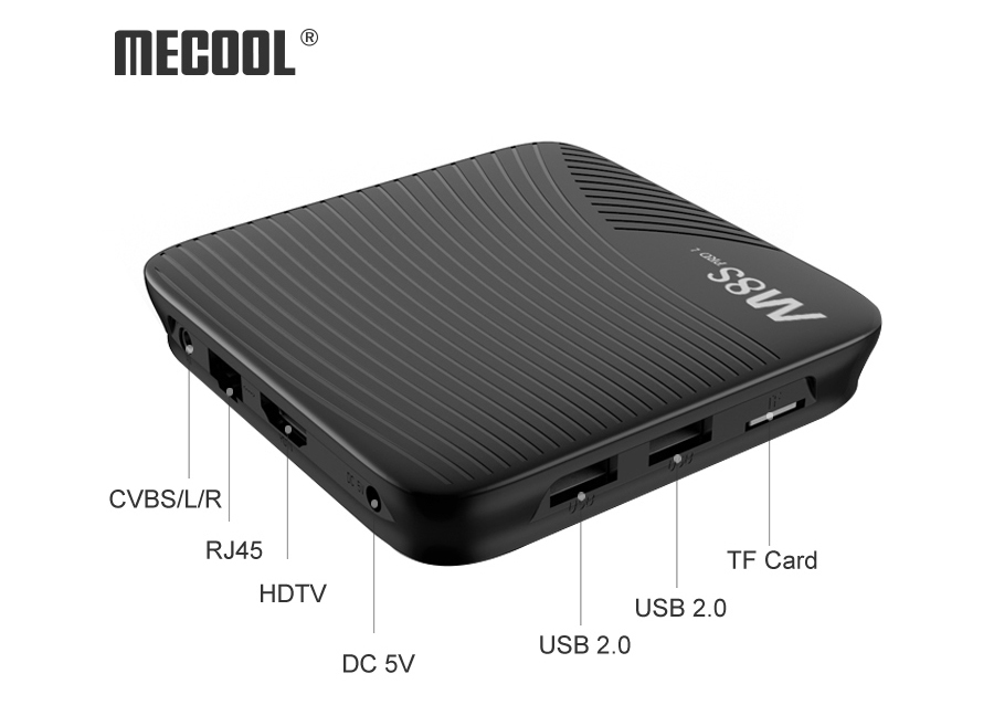 TV Box Mecool M8s Pro L S912 3/16GB Android 7.1 TV OS