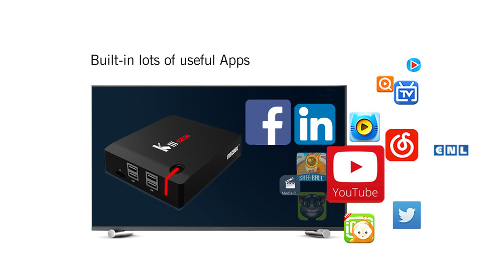 Hybridní TV Box Mecool KIII Pro S912 3/16GB Android 7.1 TV OS