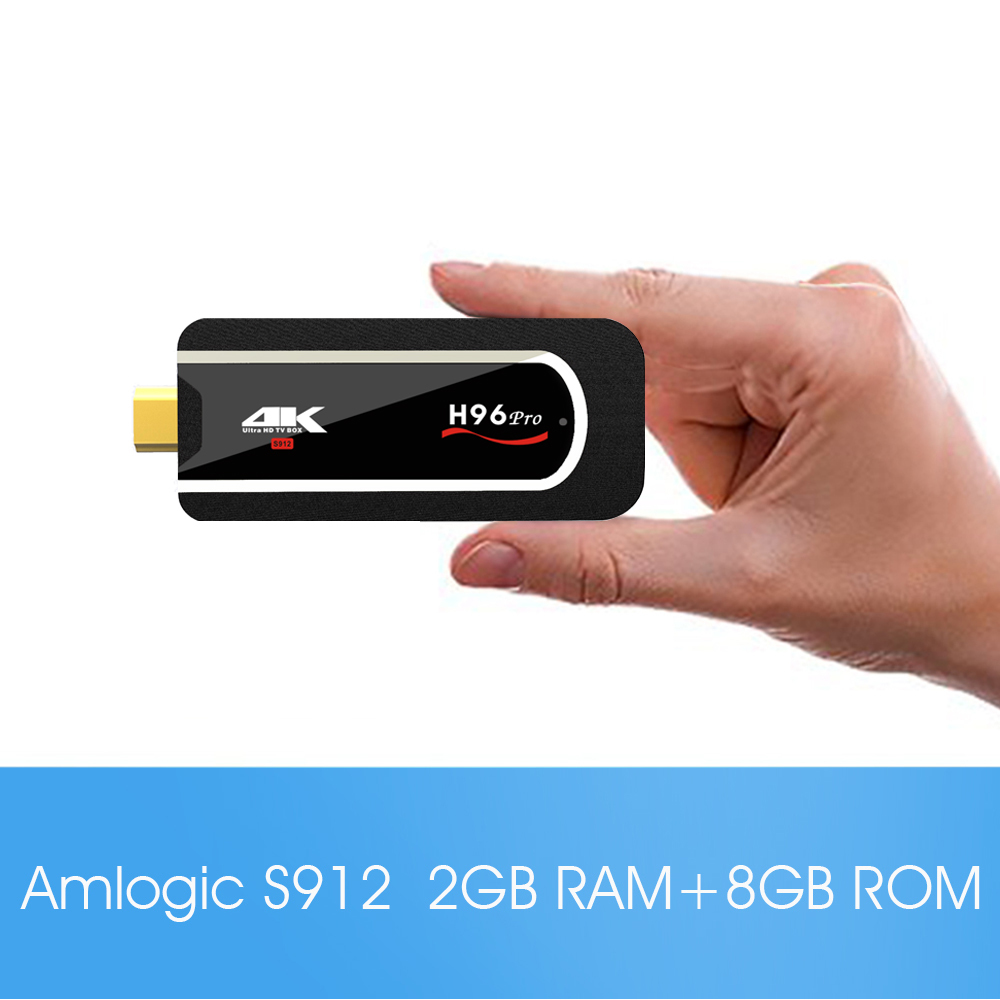 TV Stick H96 Pro S912 2/8GB Android 7.1