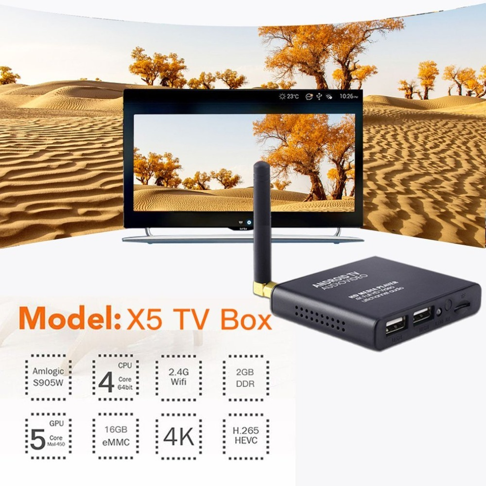 TV Box X5 S905W 2/16GB Android 7.1