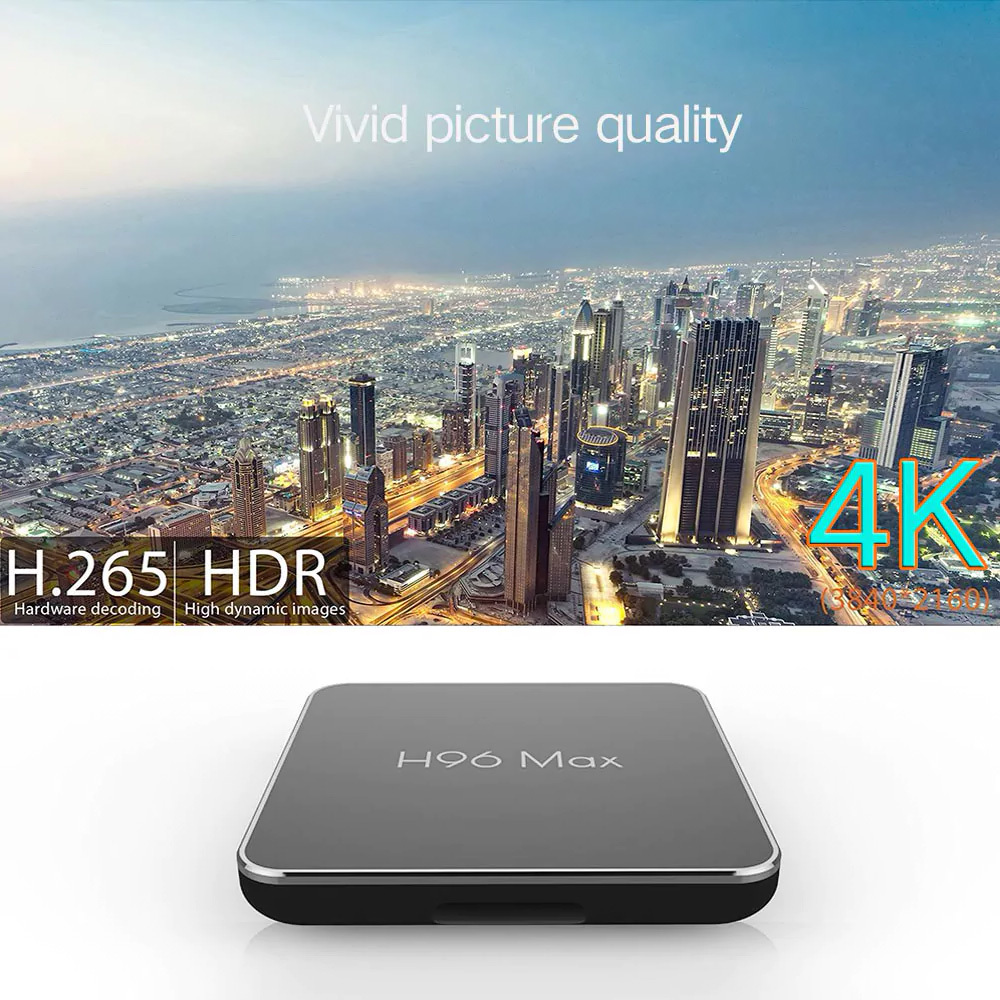 TV Box EACHLINK H6 mini 3GB RAM 32GB Android 7.0