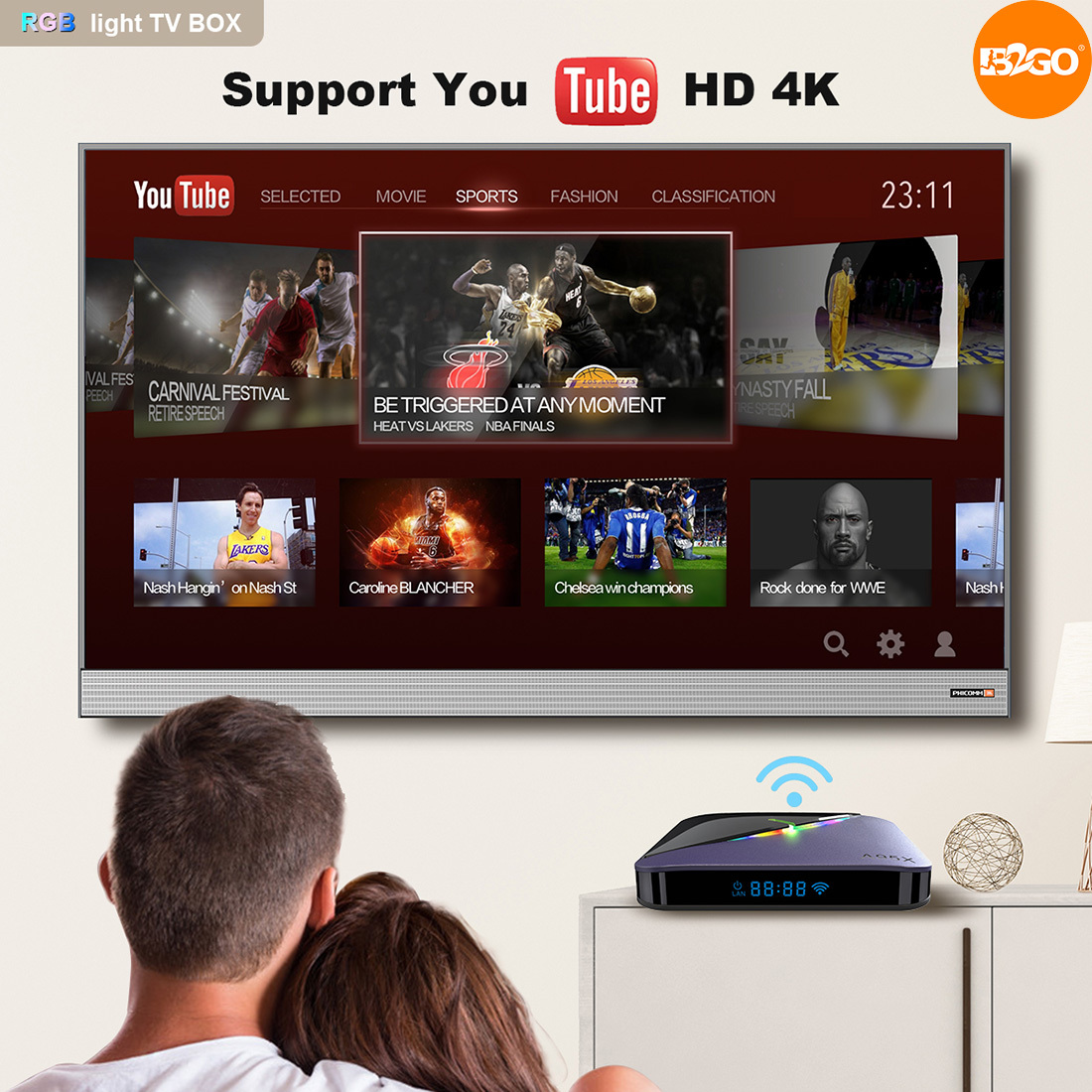 TV Box A95X F3 S905X3 4/64GB Android 9.0