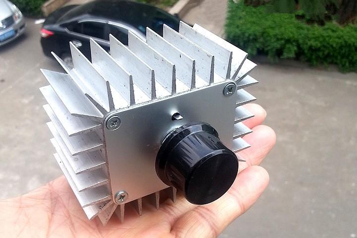 Regulátor otáček pro stejnosměrné AC motory - SCR 220V/5kW