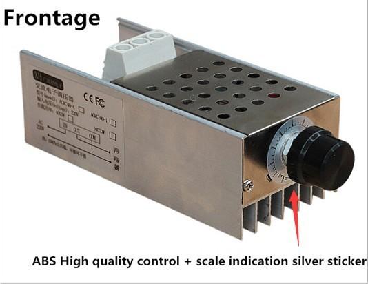 Regulátor otáček pro stejnosměrné AC motory - SCR 220V/10kW