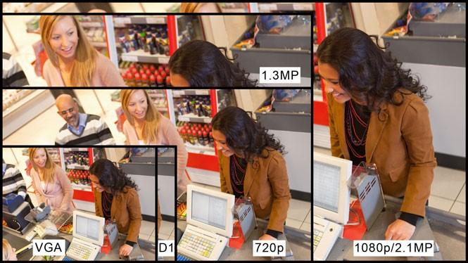 RGB-I6K4Hx WiFi IP P2P bullet venkovní kamera 720P 960P 1080P