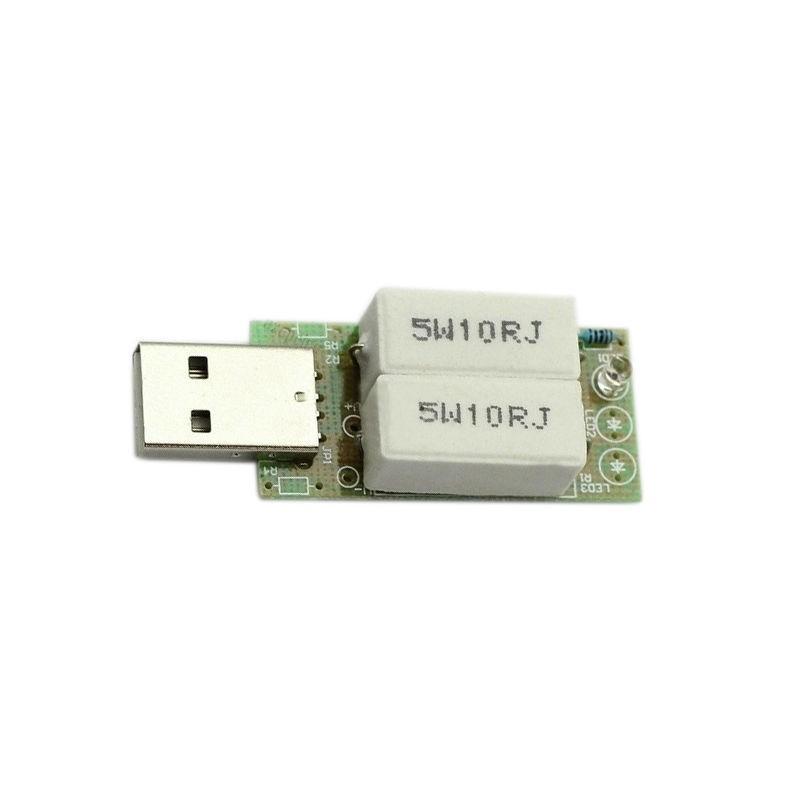 USB mini vybíjecí rezistor, odporový rezistor, vybíjecí odpor zátěže