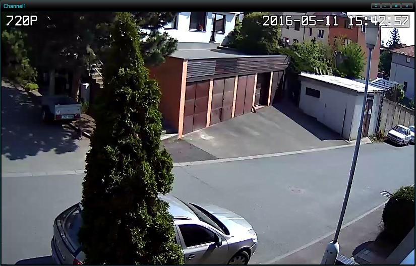 RGB-M3D0H1 720P 1MP HD WiFi IP P2P vnitřní kamera