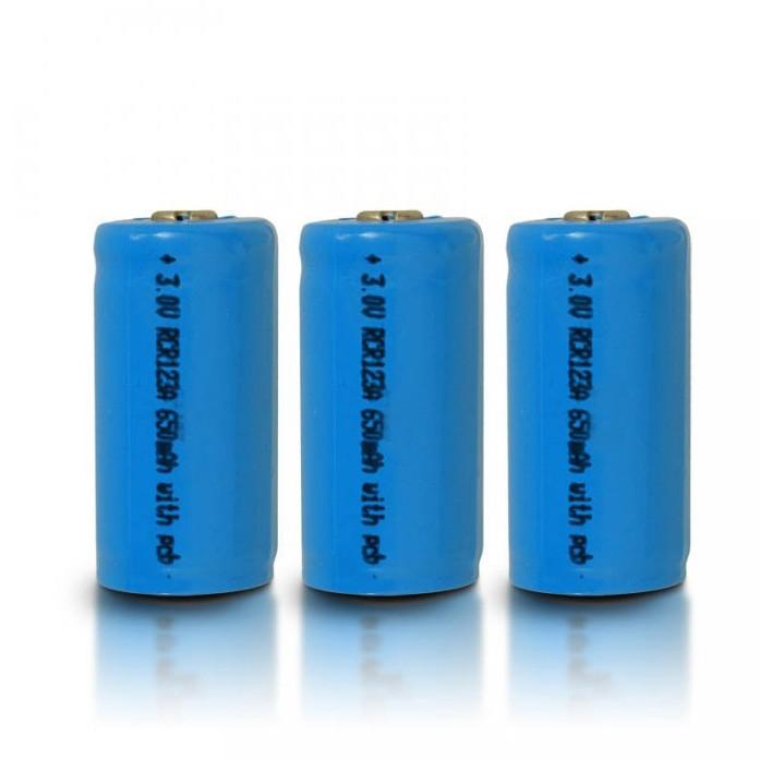 UltraFire 650mAh 3.7V 16340 NCR Li-ion