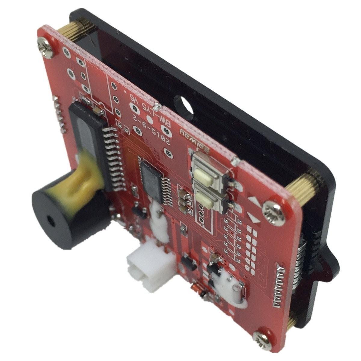 BW-LY5 panelový LCD měřič tester kapacity Li-ion baterie 12V-48V autobaterie