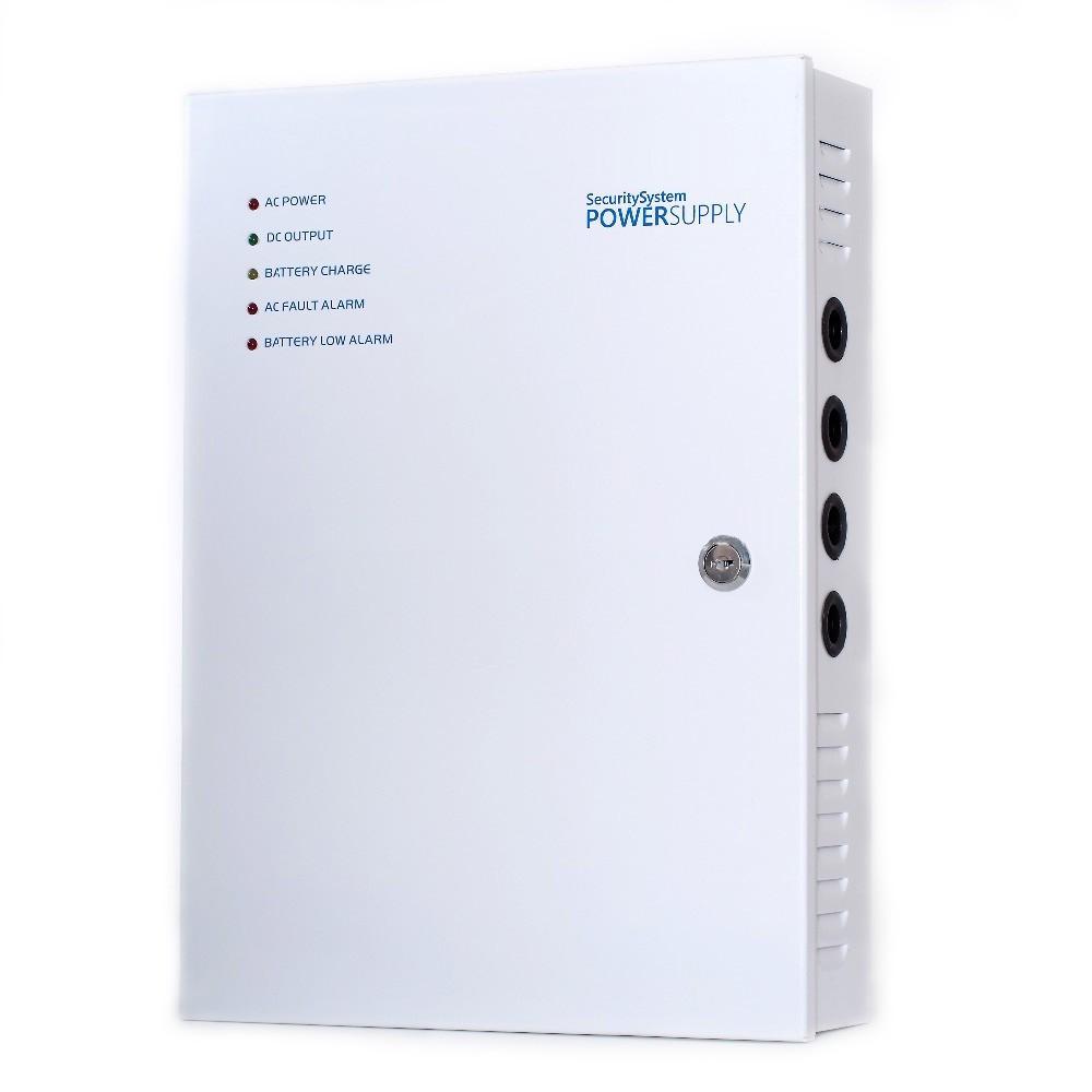 impulsní napájecí zdroj, 24V DC, 9 portů, 10A, nástěnný v instalační skříňce