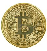 One bitcoin gold 40mm