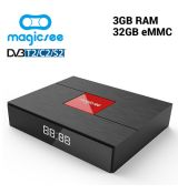 C400 S912 DVB-T2/S2/C 3/32GB TV box
