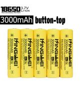 UltraFire 3000mAh 3.7V 18650 NCR Li-ion button-top